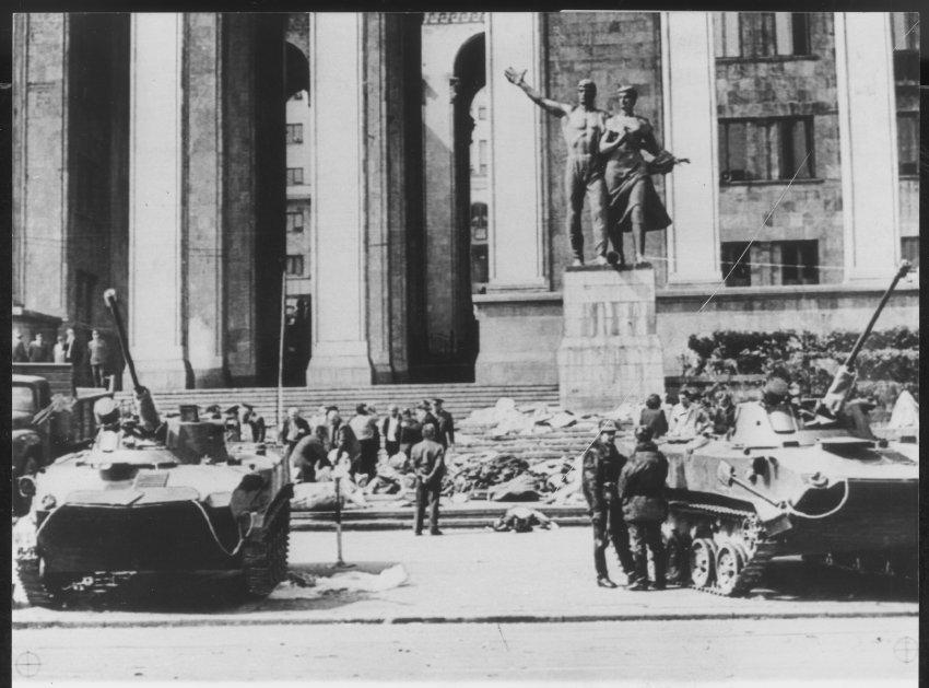 Трагедия 9 апреля 1989 События в Тбилисси Грузия 2011