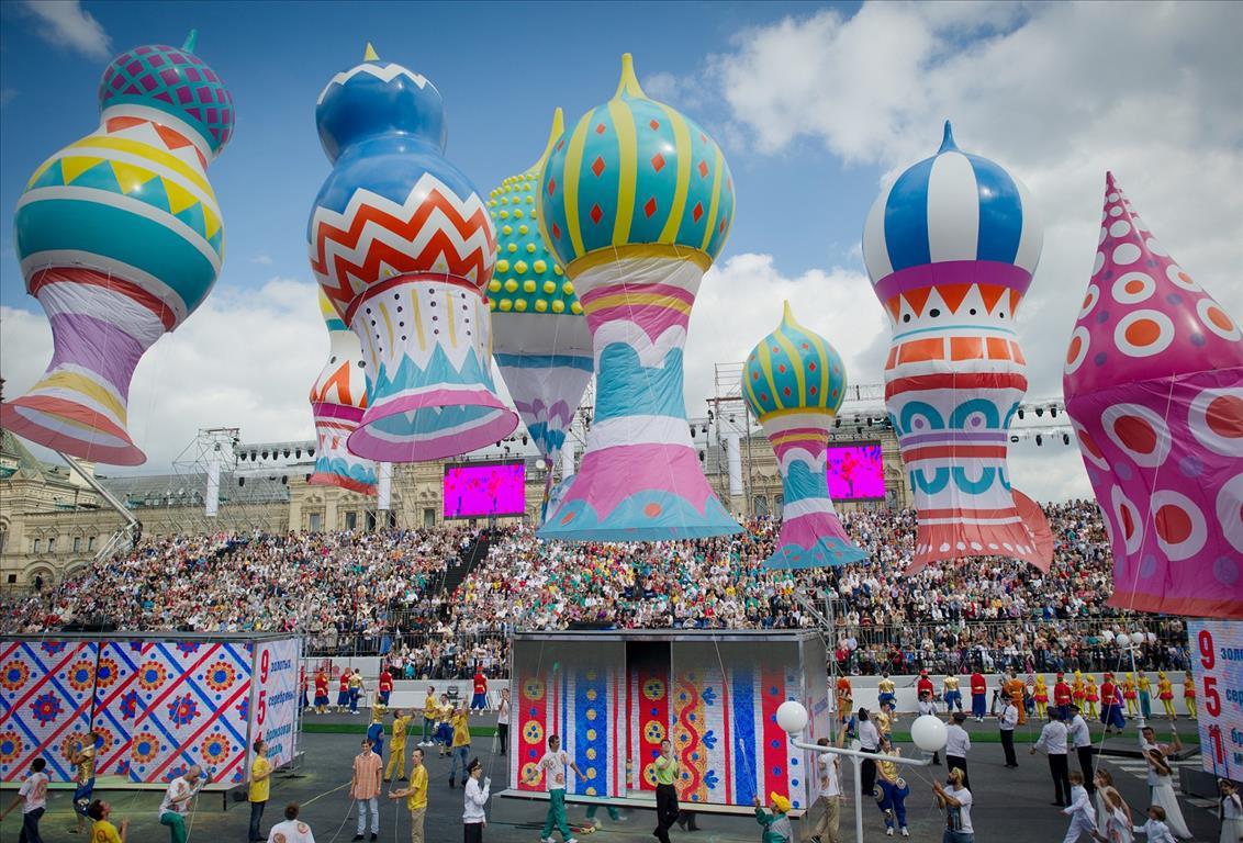 открытие дня города на красной площади 2016 смотреть