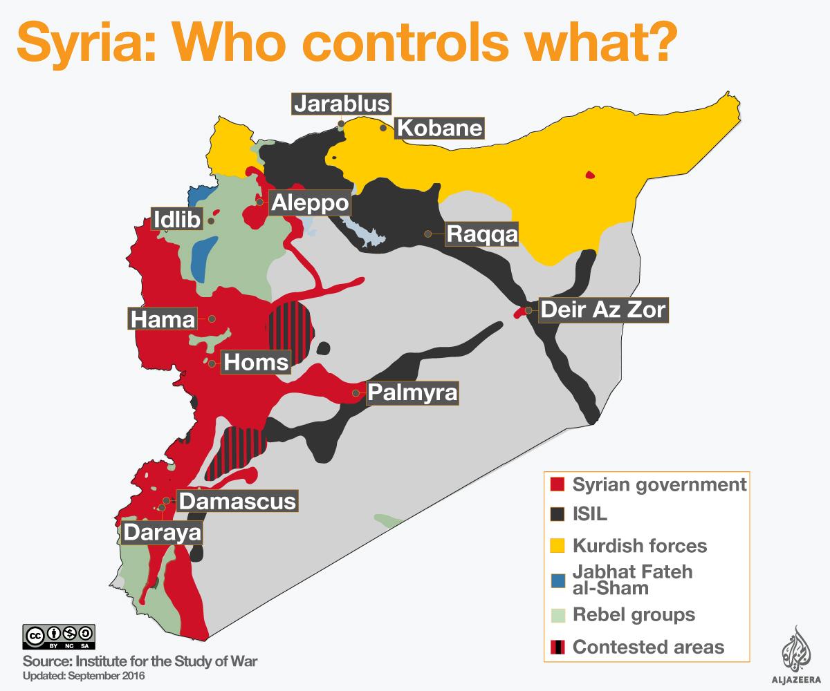 кто контролирует территорию сирии карта этот вид термобелья