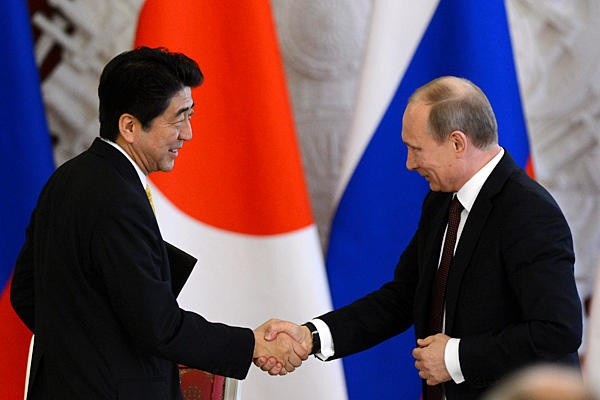 МИД Японии анонсировал визит В. Путина на15