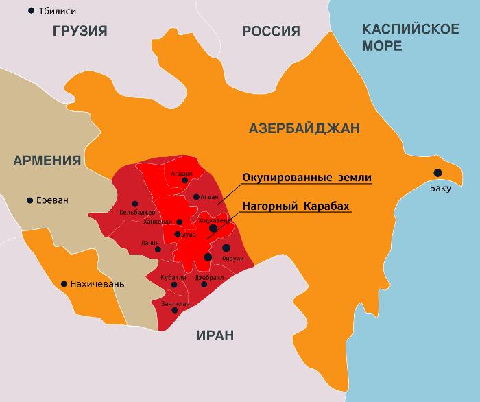 Стороны вновь утверждают онарушениях перемирия— Нагорный Карабах
