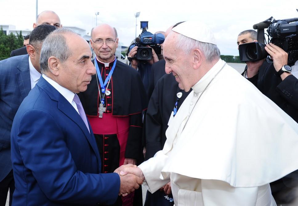 Визит папы Франциска вАзербайджанской столице важен для разговора цивилизаций— Алиев