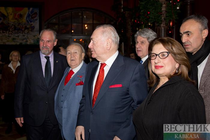 Встреча Чрезвычайных и Полномочных послов с Зурабом Церетели по случаю его 85-летия