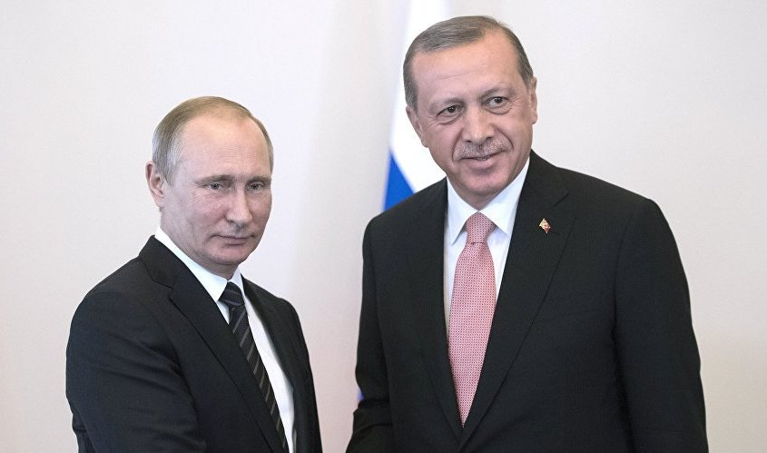 Эрдоган объявил о вероятной совместной операции РФ, Турции иИрана вИдлибе