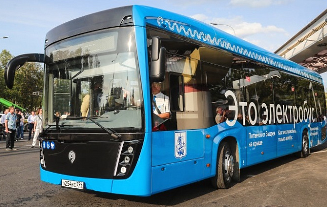 В Крыму будут ходить башкирские электробусы