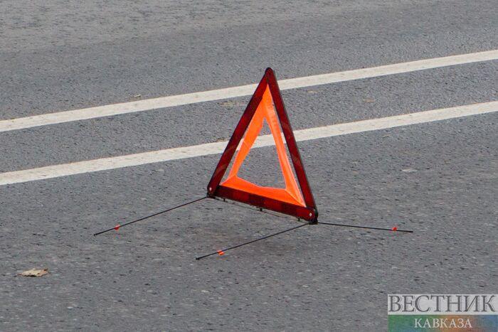 Пассажирский автобус и маршрутка столкнулись в Москве