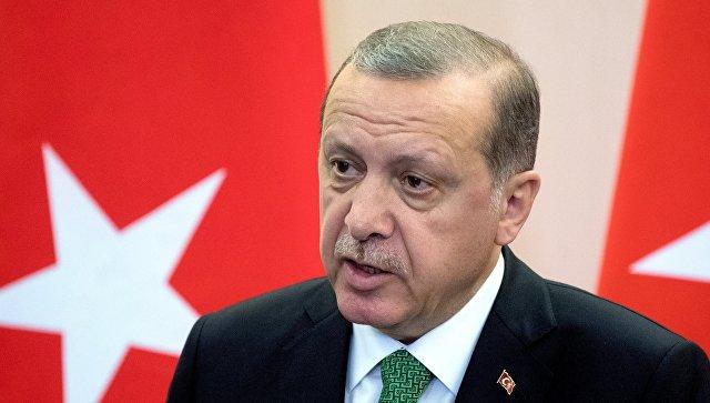 Эрдоган на французском пожелал скорее оправиться от пожара в Нотр-Дам