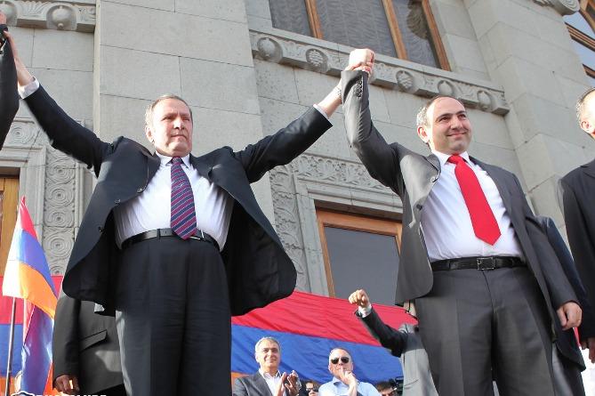 Image result for пашинян и тер петросян
