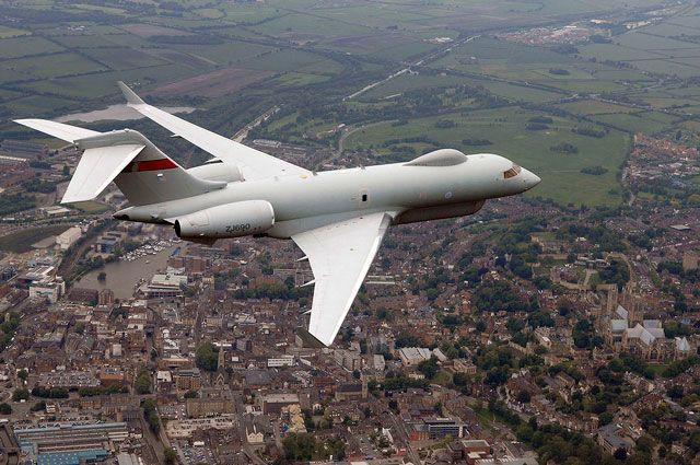 Над Крымом снова кружил самолет-разведчик на этот раз- британский