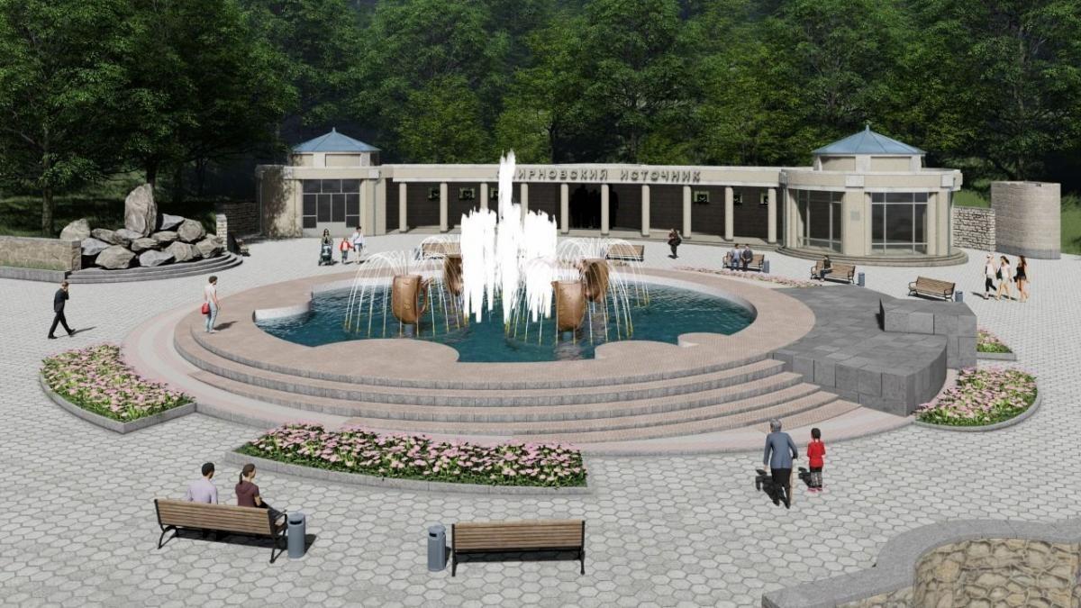 В Железноводске реконструируют фонтан