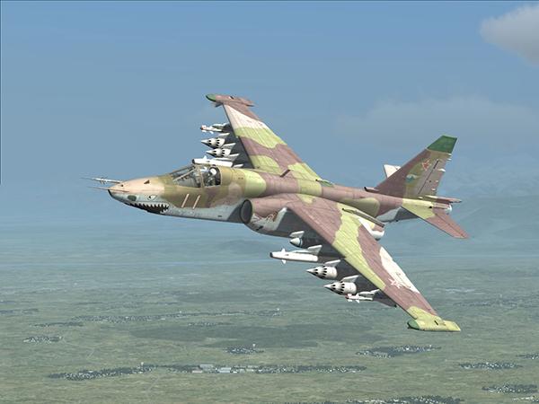 На Ставрополье потерпел крушение Су-25УБ