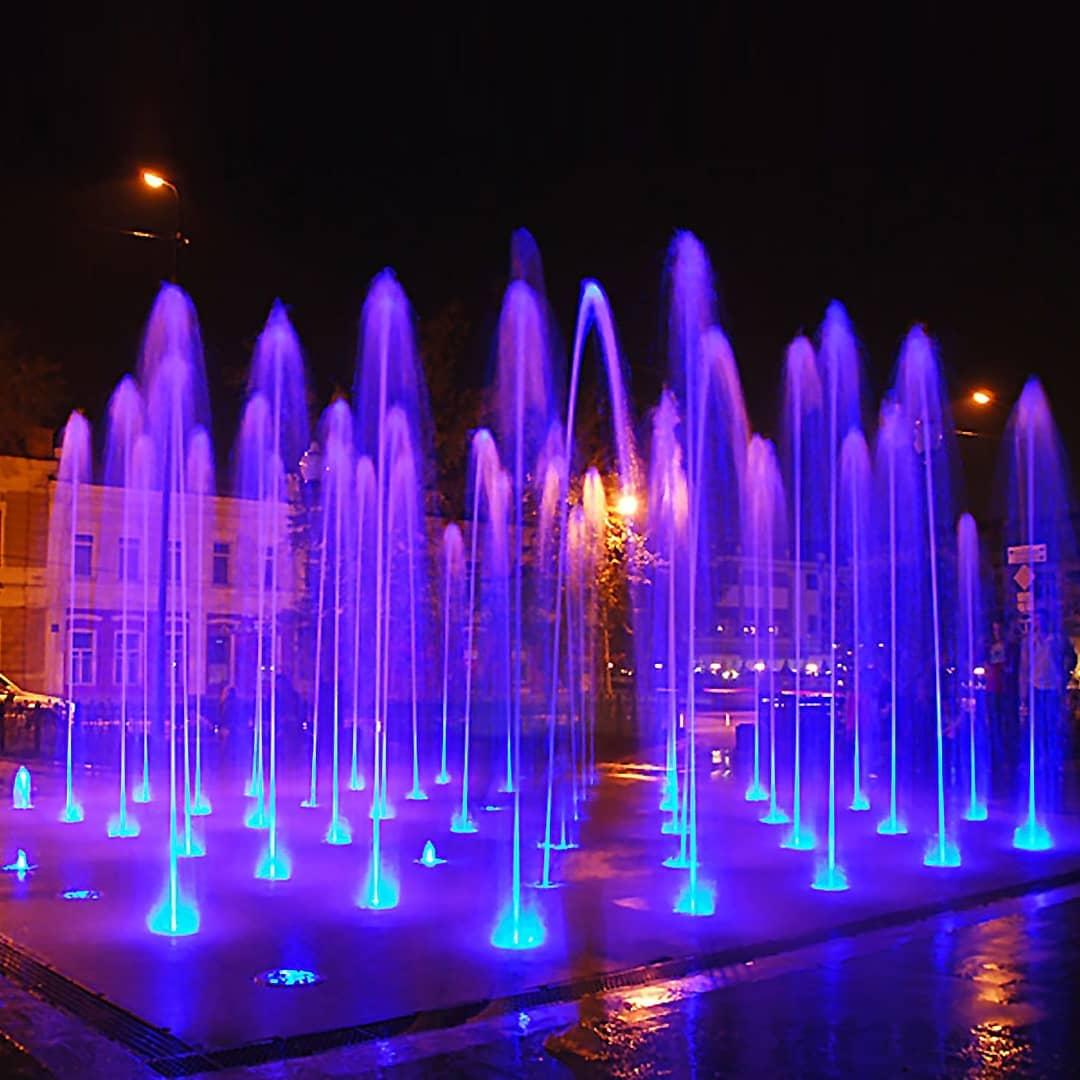 Анапу украсит комплекс фонтанов на воде