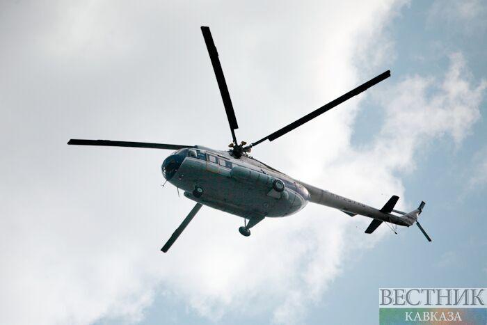 """На Кубани нашли """"черные ящики"""" разбившегося накануне вертолета"""