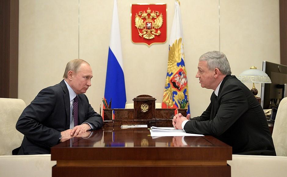 Путин принял Битарова