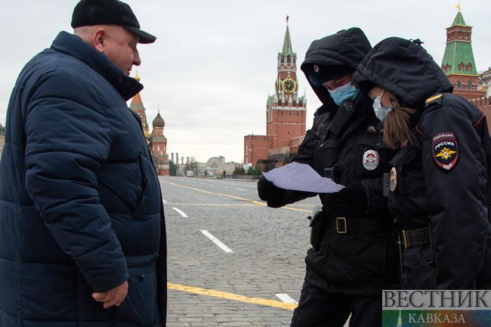 Первые штрафы за нарушение самоизоляции выписали в Москве