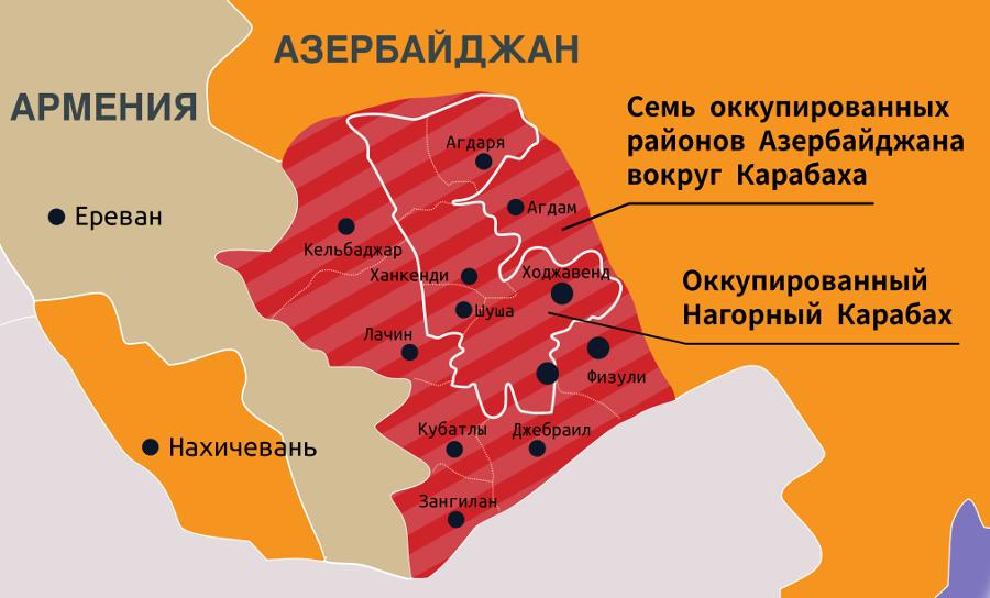 МИД Азербайджана: Армения заселяет азербайджанские территории выходцами с Ближнего Востока