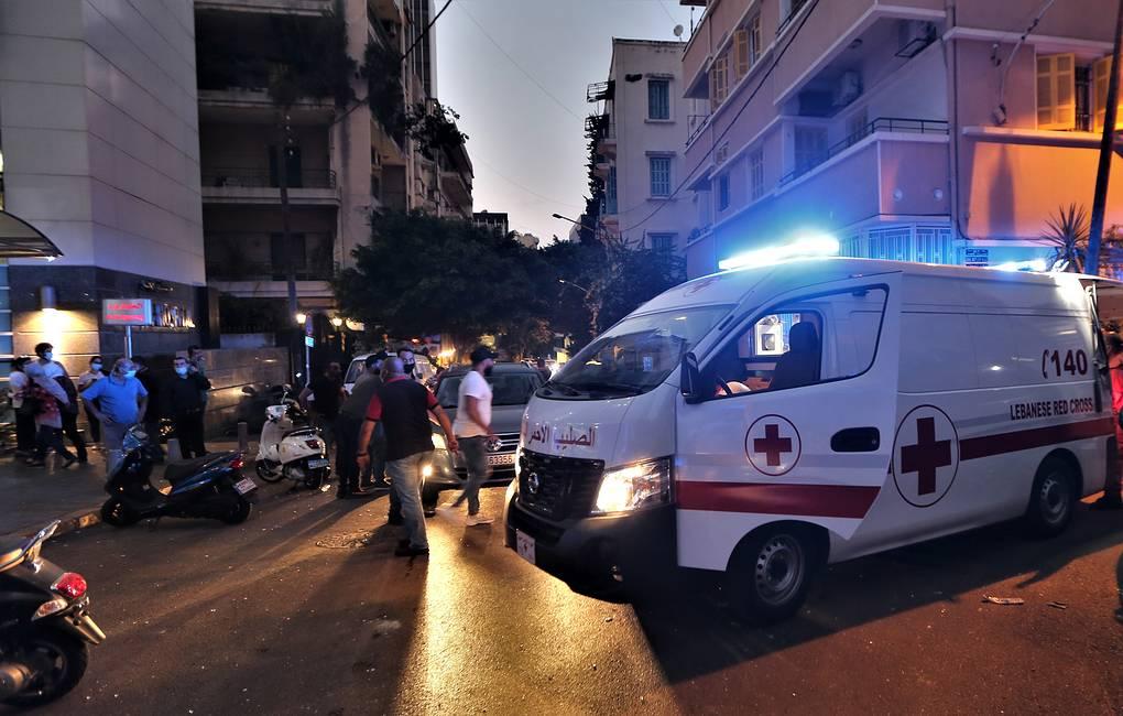 При столкновениях в Бейруте погиб полицейский