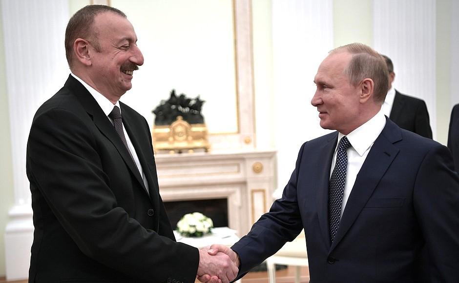 Ильхам Алиев и Владимир Путин обсудили бои в Карабахе | Вестник Кавказа