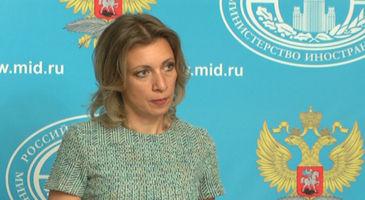 """Мария Захарова: """"Работа по Нагорному Карабаху ведётся очень интенсивно"""" . (Видео)"""