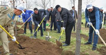 Президент Казахстана принял участие в городском