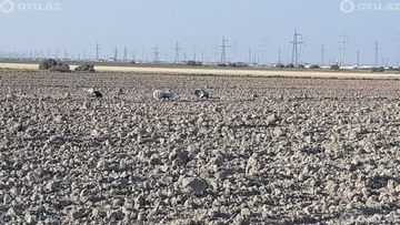 Ситалчай в Азербайджане расчищают от обломков ракеты, выпущенной ВС Армении