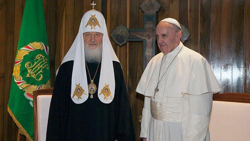 Первая в истории человечества встреча глав Православной и Католической церквей состоялась на Кубе