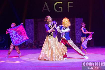 Церемония открытия финала Кубка Мира FIG по художественной гимнастике в Баку