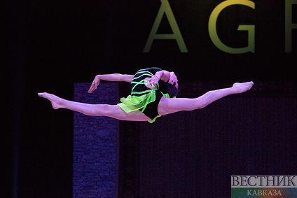 Гала-концерт и церемония закрытия Кубка Мира по художественной гимнастике в Баку