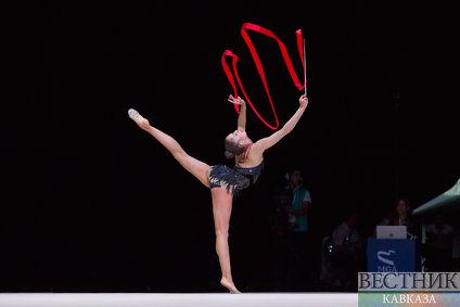 Призеры Кубка Мира FIG по художественной гимнастике Баку в индивидуальной программе