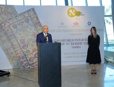 Фонд Гейдара Алиева вернул в Азербайджан исторические ковры