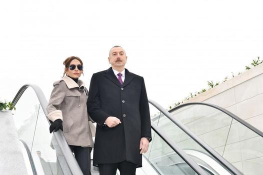"""Ильхам Алиев и Мехрибан Алиева ознакомились с работой, проделанной в """"Баку Белый город"""""""