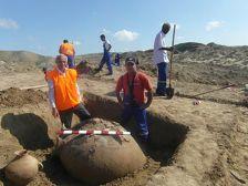 В Азербайджане археологи откопали крепостную стену VII века до нашей эры