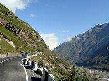 Грузия ограничила движение через Дарьяльское ущелье