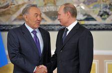 Путин и Назарбаев встретились в Пекине