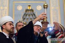 Волос пророка Мухаммеда доставлен из Чечни в Московскую Соборную мечеть
