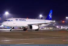 Авиакомпания Air Astana изменила коридор полетов над Каспием
