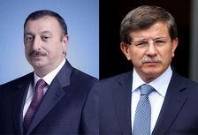 Ильхам Алиев поздравил Ахмета Давутоглу с победой ПСР на выборах