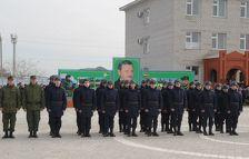 На службу в армию отправились 500 призывников из Чечни