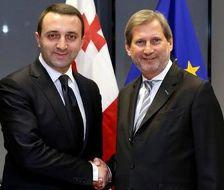 Ираклий Гарибашвили и Йоханнес Хан провели встречу в Тбилиси