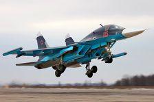 В Сирии Су-34 вылетели с ракетами воздух-воздух