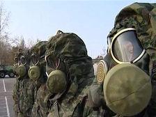 Российские химики-разведчики проводят учения в горах Армении