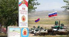 Российские военные в Армении сдают нормативы