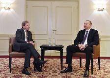 Ильхам Алиев и Йоханнес Хан обсудили отношения Азербайджана и ЕС