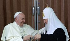 Патриарх Кирилл и папа римский Франциск не говорили о Боге