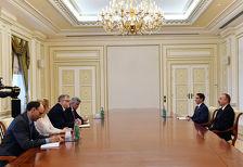 Президент Азербайджана встретился со спецпредставителем ЕС по Южному Кавказу