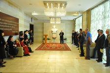 Во Дворце Гейдара Алиева отметили 93-ю годовщину со дня рождения общенационального лидера Азербайджана
