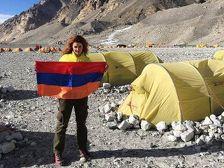 Эверест покорила первая армянская альпинистка