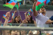 В Баку стартовал второй день первенства Азербайджана и Баку по акробатической гимнастике