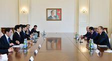 Ильхам Алиев принял спецпосланника председателя КНР