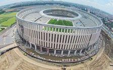 ФК Краснодар откроет стадион не позднее осени 2016 года